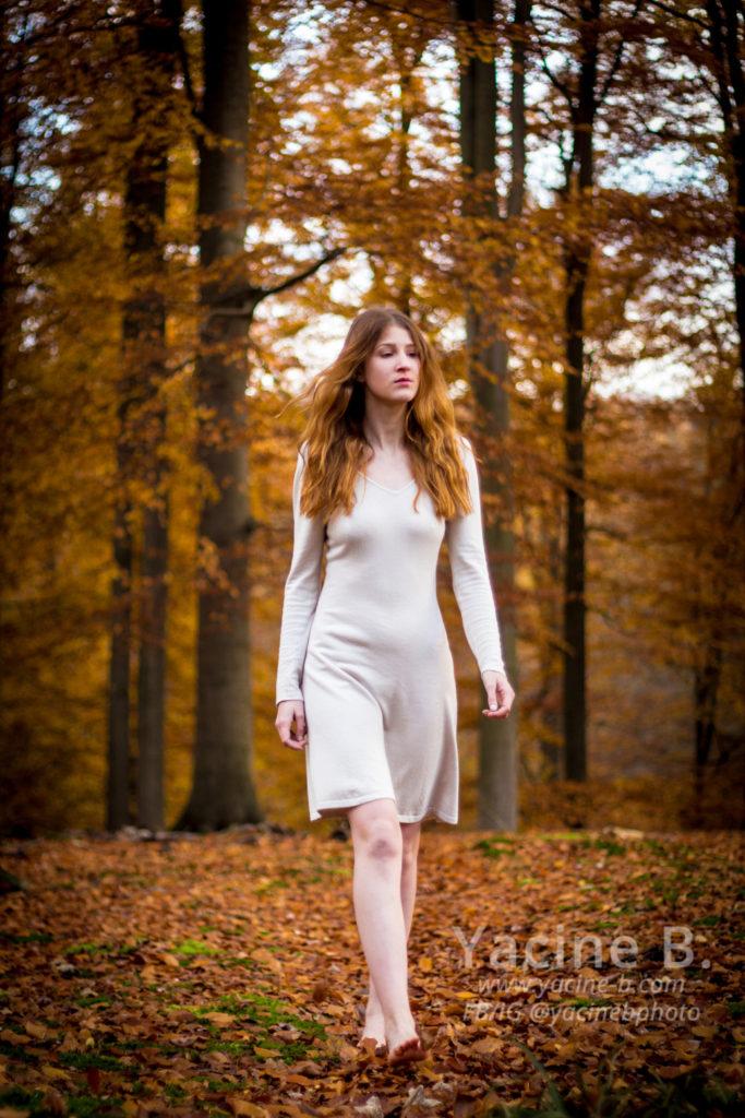 La demoiselle et la forêt - 1